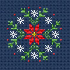 Christmas Ornament cross stitch pattern, You can produce very specific designs for materials with cross stitch. Cross stitch models can very nearly surprise you. Cross stitch beginners will make the models they desire without difficulty. Retro Christmas Decorations, Retro Christmas Tree, Primitive Christmas, Diy Christmas Ornaments, 1950s Christmas, Santa Ornaments, Christmas Projects, Cross Stitch Disney, Santa Cross Stitch