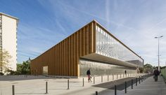 Image 14 of 20 from gallery of Cachan Covered Market / Croixmariebourdon Architectures. Photograph by Luc Boegly