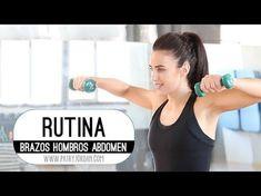 Rutina para trabajar los hombros, los brazos y el abdomen