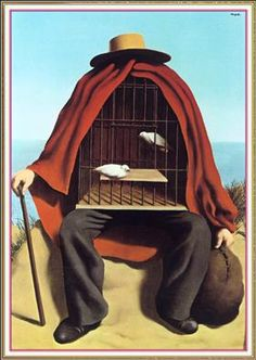 The therapeutist - Rene Magritte