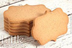 Galletas de jengibre para decorar | Gingerbread cookies to decorate