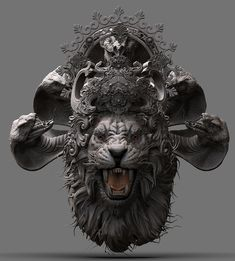 Ganesha Tattoo, Ganesha Art, Anatomy Sculpture, Sculpture Art, Animal Sculptures, Shiva Art, Hindu Art, Ganpati Bappa Wallpapers, Art Paintings