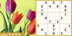 http://www.timedia.co.jp/puzzle/ - 4 月のナンプレはチューリップ