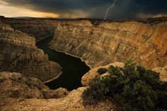 Canyon Storm by Doug Roane