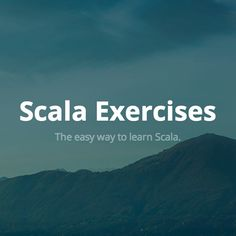 The easy way to learn Scala.