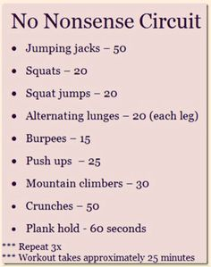 Great Circuit When You Can't Get To The Gym!  Quick And Fast Workout Full Body :)