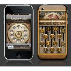 Steampunk iPhone, who woulda thunk it?