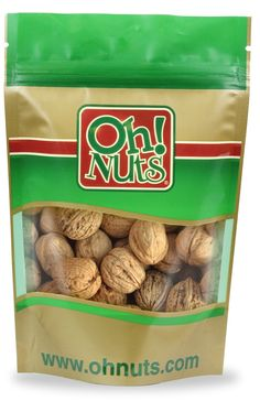 In Shell Walnuts- Oh! Nuts (4 Pound Bag) *** See this great product @ http://www.amazon.com/gp/product/B00BWV22ES/?tag=pinbaking-20&ptu=170716034026