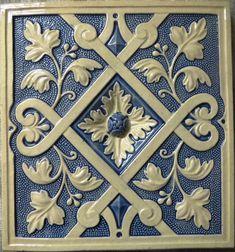 Russian Stove Tile