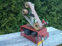 """For awhile I've wanted to invest in a 2"""" belt grinder, but could never justify the massive expense. So I built one myself!"""