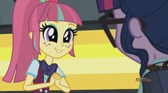 #1003583 - bowtie, equestria girls, friendship games, glasses, human twilight, ponytail, safe, screencap, sour sweet, spoiler:friendship games, twilight sparkle - Derpibooru - My Little Pony: Friendship is Magic Imageboard