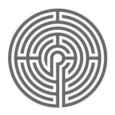 A Lavender Labyrinth Type Ravenna at Bamberg (Germany)