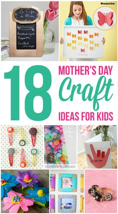 Top 18 Mother's Day Craft Ideas For Kids