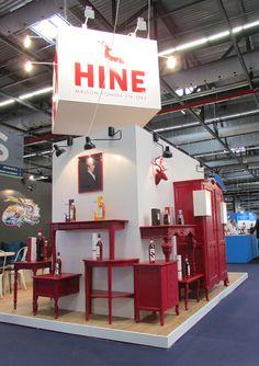 Stand de Cognac Hine sur Vinexpo 2017. Conception et réalisation Agence Unika Basketball Court, Country Cottage Living