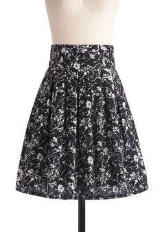 I just like it. The wide waist and pleats, the fabric, it's nice.