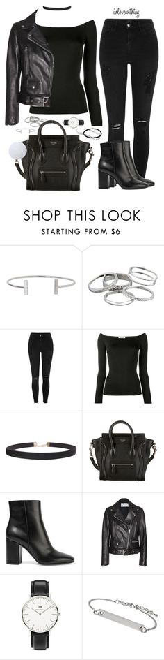 """33❤"" by inlovewithtay on Polyvore featuring mode, Humble Chic, Kendra Scott, River Island, Valentino, CÉLINE, Gianvito Rossi, Acne Studios, Daniel Wellington et Topshop"