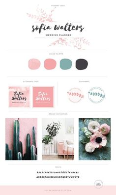Watercolor Logo, Brand Identity Design, Branding Design, Branding Kit, Corporate Branding, Branding Ideas, Blog Banner, Packaging Design Inspiration, Brand Inspiration