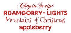15 tipografías perfectas para Navidad