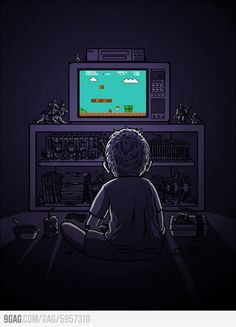 Super Mario: beautiful story, beautiful childhood.
