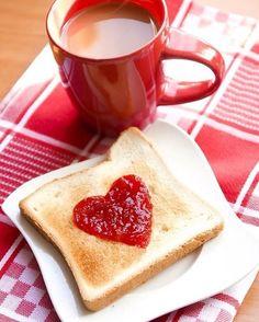 happy red heart isartfulfairytale coffee time, i love coffee I Love Coffee, Coffee Break, My Coffee, Morning Coffee, Cake Mug, Valentines Breakfast, Café Chocolate, Chocolate Brownies, Pause Café