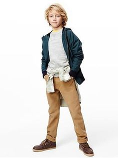 I like his hair. Kids Clothing: Boys Clothing: Featured Outfits New Arrivals | Gap