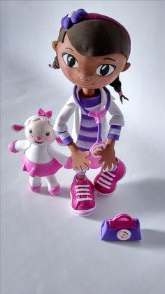 Lambie Fofucha Foam Doll