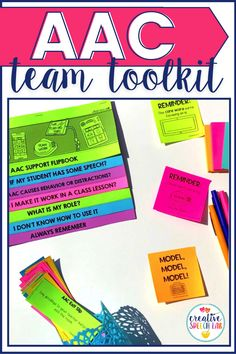 If you are a speech therapist, you may be looking for an AAC Team Kit, so that all members of the AAC team are informed and doing their part for your shared student. This AAC resource is full of tools and information that will keep everyone involved.