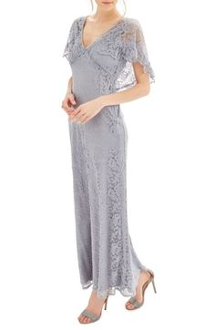 1930s Style Evening Dresses Womens Topshop Bride Caped Gown Size 4 US fits like 0-2 - Blue $240.00 AT vintagedancer.com