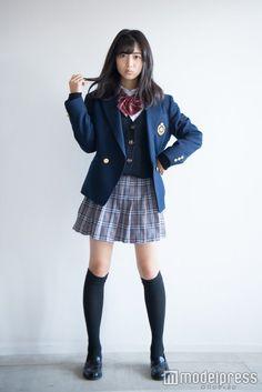 Japan School Uniform, Japanese School Uniform Girl, Japanese Uniform, School Uniform Outfits, School Girl Outfit, School Uniforms, Girls In School Uniform, School Fashion, Girl Fashion