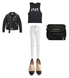 """""""Untitled #277"""" by kaittd on Polyvore featuring Chanel, Yves Saint Laurent and MICHAEL Michael Kors"""