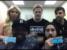Pentatonix Saturday Night Online Ask Anything Chat w/ Romeo 12/06/14 @as...