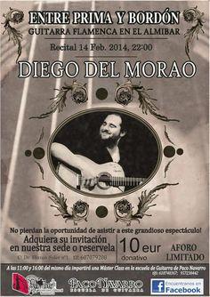 FUNDACIÓN GUITARRA FLAMENCA www.fundacionguit... MASTER CLASS Y CONCIERTO DIEGO DEL MORAO ESCUELA PACO NAVARRO