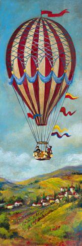 Air Balloon II Giclee Print by Georgie at Art.com