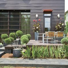 Style Guide: 60 Breezy Porches and Patios   Modern Patio   SouthernLiving.com