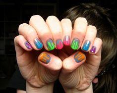"""""""Goosebumps"""" manicure!"""