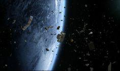 NASA discute caza de basura espacial con arpón