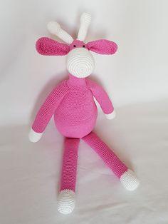 Crochet Giraffe. Żyrafa zrobiona na szydełku. hand made dolls giraffe cotton crochet toy gift girl lalki żyrafa szydełko zabawka ręczna praca ręczne robótki bawełna