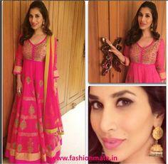 Sophie Choudry in Pink- at Ekta's Diwali Bash or Dia's Wedding? | Fashion Mate