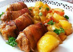 Pork Tenderloin Recipes, Gnocchi, Tandoori Chicken, Mozzarella, Chicken Wings, Sweet Potato, Sausage, Food And Drink, Potatoes