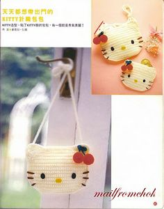 Hello Kitty bag and coin purse