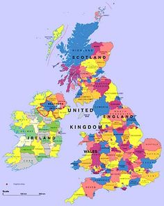 Map Of UK And Ireland Map of UK Counties in Great Britain Northern Ireland and in addition Map Of Great Britain, Kingdom Of Great Britain, England Ireland, England And Scotland, England Map, United Kingdom Map, Printable Maps, Free Printable, County Map
