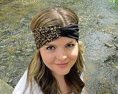 Cute leopard print turban headband! Only $15.00 on www.etsy.com/shop/itstwisted