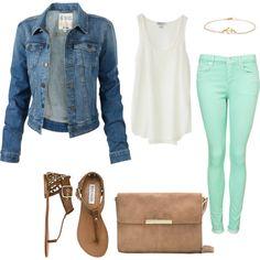 Cute, comfy, casual, simple. My favorite things.
