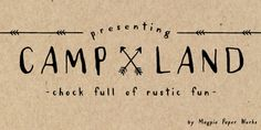 Love these fonts from Magpie Paperworks
