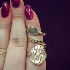 Signet #rings by @lorimcleanjewelry! Which is your favorite? #gold #jewelry #globalDESIGN