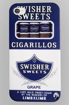 Great #Grape IOS Phone case. #Swisher #SwisherPhone #CaseCigarillos