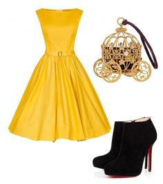 """Sofia"" by sarah-bili on Polyvore featuring beauty and Christian Louboutin"