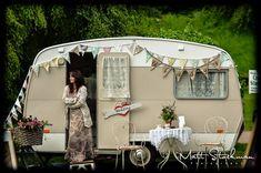 Alpine Sprite Vintage caravan named 'Gladys' ♥