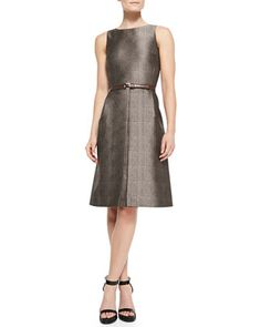 Ha ha ha! This dress costs a fortune for no apparent reason other than it is Michael Kors, but I love the shape and design.