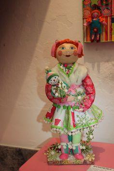 Hendrika - Art Doll created by Alexandra Graça